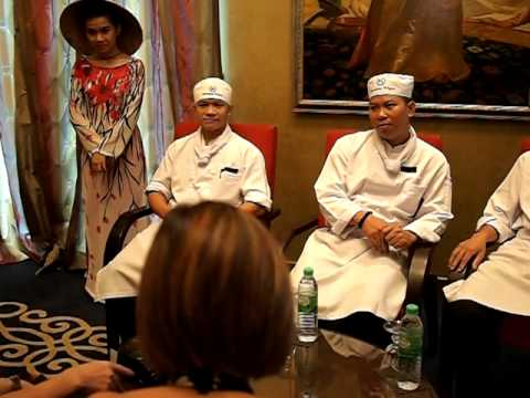 Interview with Chef Tran Cong Tien of Sheraton Saigon