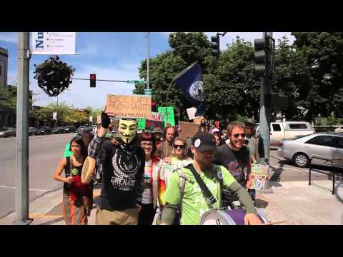 March Against Monsanto - Missoula, MT. 05-25-13