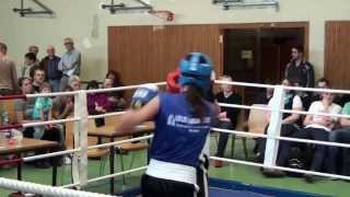 BOXING GIRL  THE FIGHT   FEMALE BOXING   KAMPF - YouTube