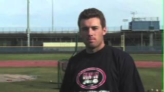 Lou Marson and Nick Evans, MLB players