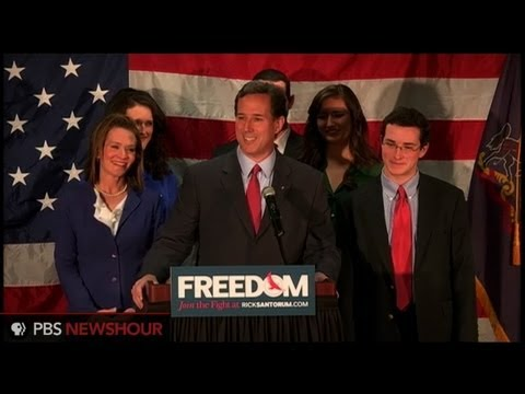 Watch Rick Santorum Speech Announcing Withdrawal From Presidential Campaign