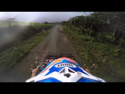 Costa Rica ATV Trail Ride GoPro Hero4 Helmet Cam