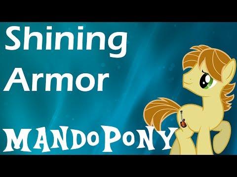 Mandopony - Shining Armor