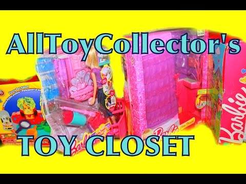 AllToyCollectors Toy Closets & Office Barbie Frozen MLP LPS...