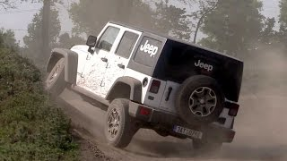 Jeep Wrangler Rubicon off road test ride