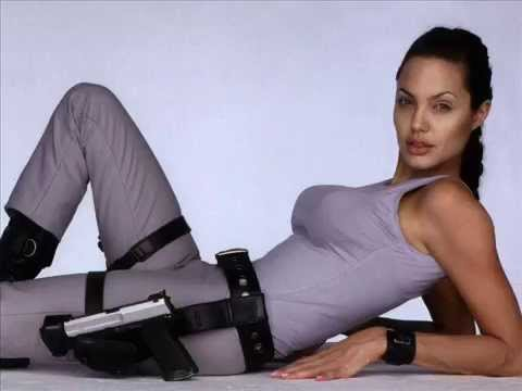 Hot Sexy Angelina Jolie Top Movies Photo Shoot video