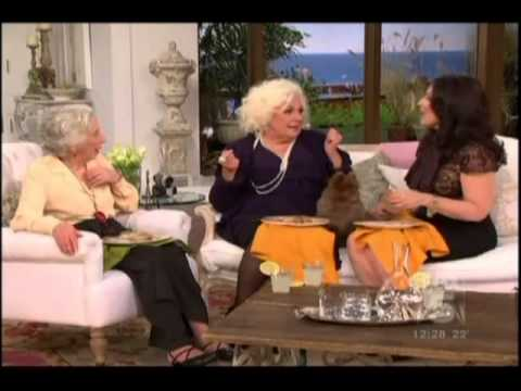 Renee Taylor and Ann Guilbert -  Fran Drescher Show