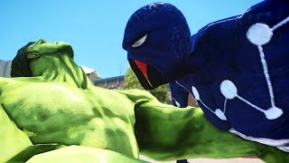 SPIDERMAN VS HULK - CAPTAIN UNIVERSE SPIDER-MAN 2099