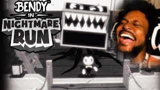 NEW BENDY RUNS GAME IS CRAZY! | Bendy In Nightmare Run