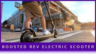 Best E-Scooter of 2019: Boosted Rev First Impressions | ESkate Reviews