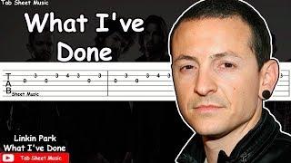 Linkin Park - What I've Done Guitar Tutorial