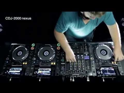 Pioneer New CDJ-2000nexus Performace decks