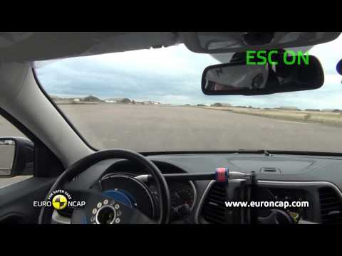 Euro NCAP | Jeep Cherokee | 2013 | Электронный контроль устойчивости