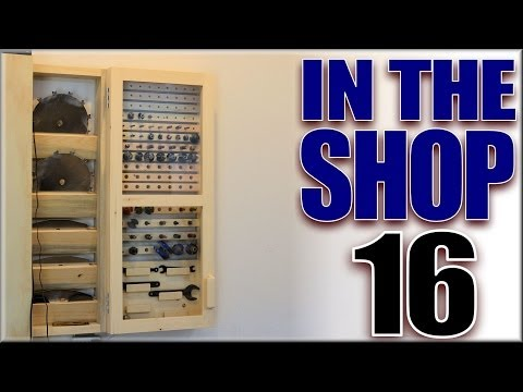 The Router Bit Cabinet