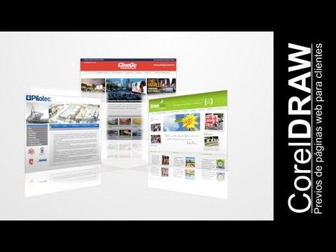 CorelDRAW, Realiza páginas de muestra con interactividad web para tus clientes @ADNDC @adanjp