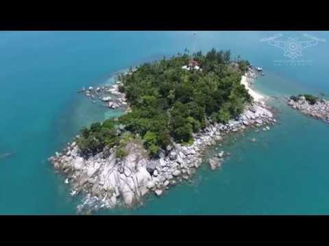 Pulau Lampu dan Pulau Putri, Bangka Belitung | Drone OWLGRAPH