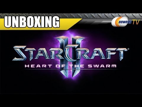 Newegg TV: Starcraft II: Heart of the Swarm Collector's Edition Unboxing