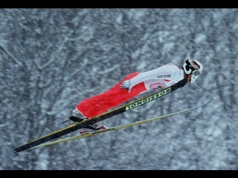 Japan's Ski Jump Take The Home Advantage - Nagano 1998 Winter Olympics