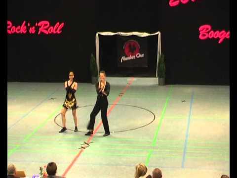 Karolien Dullers & René Feijs - Landesmeisterschaft NRW 2012