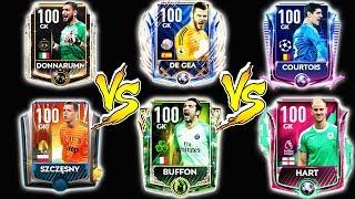 BEST NO1 BOOST GK? VIP DONNA VS UTOTY DDG VS UCL COURTOIS VS STP BUFFON | FIFA MOBILE 19