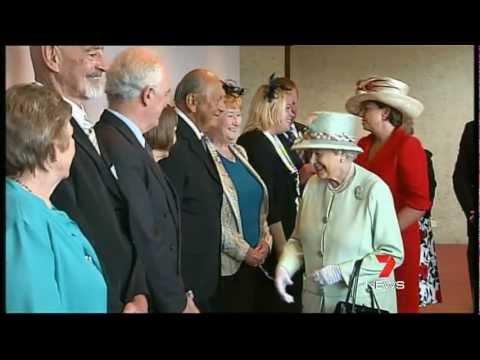 Queen Elizabeth II Visits Brisbane, Queensland 2011