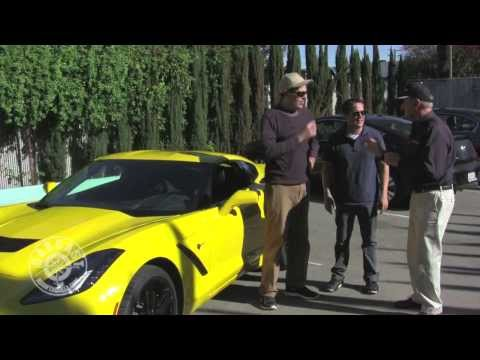 Bob Bondurant with the 2014 Corvette Stingray on CarCast with Adam
