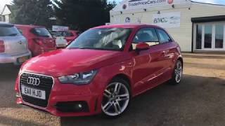 2011 AUDI A1 1.4 TFSI S LINE FOR SALE | CAR REVIEW VLOG