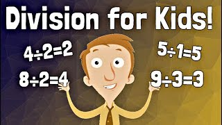 Division for Kids | Basic Math Learning Video