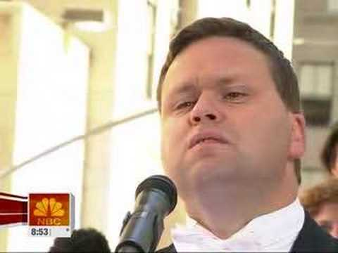 Paul Potts on TODAY at Rockefeller Center