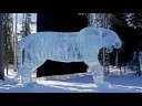 extreme ice art: larger than life ice sculptures