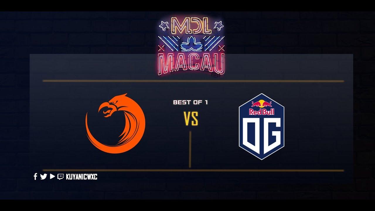 TNC vs OG Part 2 (BO1)   MDL Macau