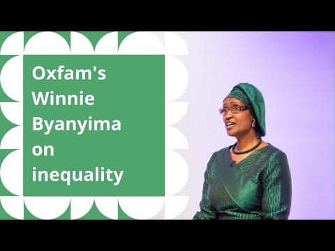 Global Development Institute: Oxfam's Winnie Byanyima on inequality