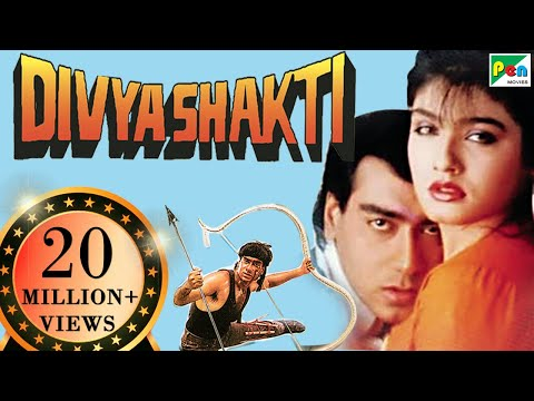 Divya Shakti | Full Movie | Ajay Devgan, Raveena Tandon, Amrish Puri | HD 1080p