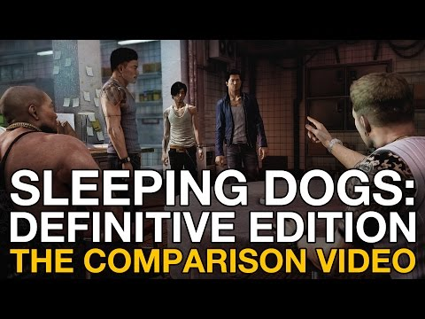 Sleeping Dogs: Definitive Edition - PS4/Xbox 360 gameplay comparison