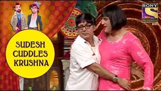Sudesh Cuddles Krushna On Stage - Jodi Kamaal Ki