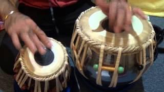 Tabla Practical Demonstration # 26  Ghazal Dil Mae Ek Lehar - Kehrava Beat