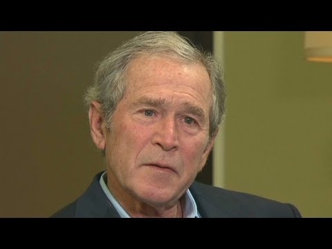 President George W. Bush on life after the White House