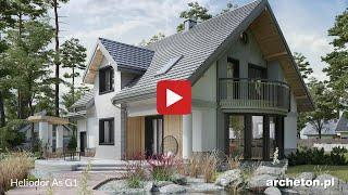 Projekty domów dużych od 190 do 230 m2