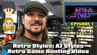 Retro Styles Game Hunting Show with AJ Styles - #CUPodcast