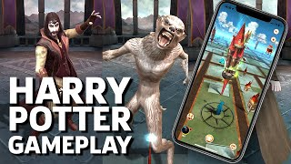 Harry Potter: Wizards Unite iOS Launch Day Gameplay