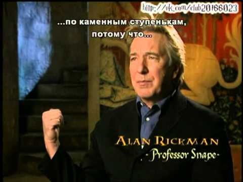 Harry Potter and The Chamber of Secrets. Actors told about they characters