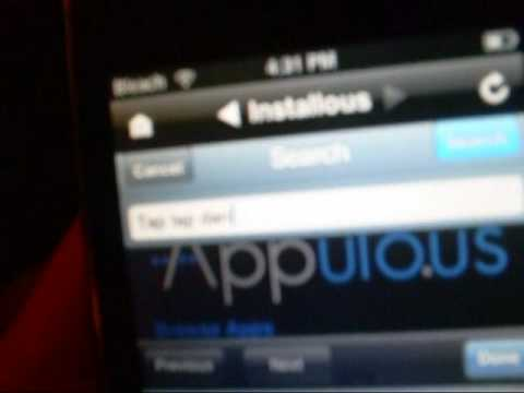 How To Install Cracked App's To Your iPod touch Or iPhone