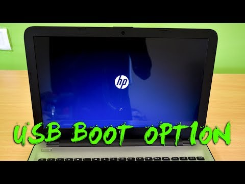 How To Install Windows 10 on HP Notebook 15 from USB (Enable HP Laptop Boot Option)