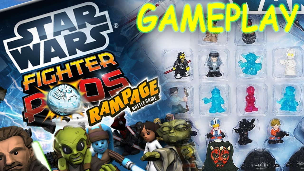 Star Wars Pods Rampage Battle