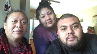 Un cafe con mi familia y mama
