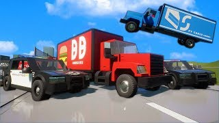 The BIGGEST Lego Cops VS Robbers Police Chase Ever?! - Brick Rigs Multiplayer Roleplay