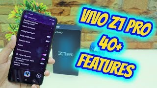 Vivo Z1 Pro Top 40+ Hidden Features , Advance Features , Best Features | Tips & Tricks !