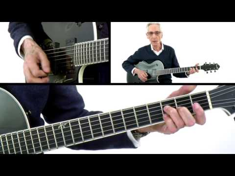 Pat Martino Guitar Lesson: G7 Improv: Minor Form - The Nature of Guitar