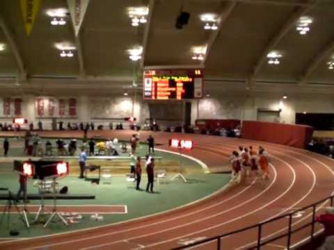 M Mile (3 sub-4 - Poore 3:58.85, Turner 3:59.17, Hubers 3:59.83 - Indiana Relays)