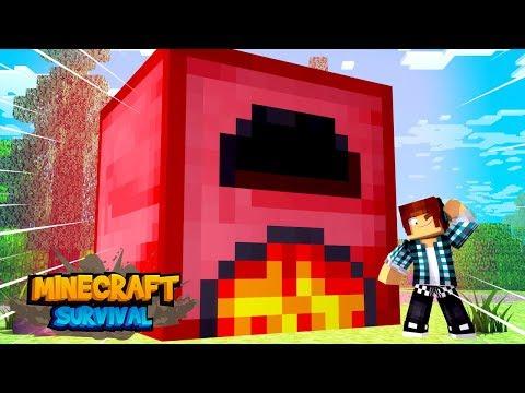 Minecraft Survival #19 - A MELHOR FORNALHA DO MINECRAFT !!